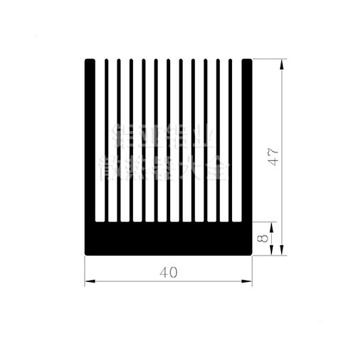 散热器铝型材定制